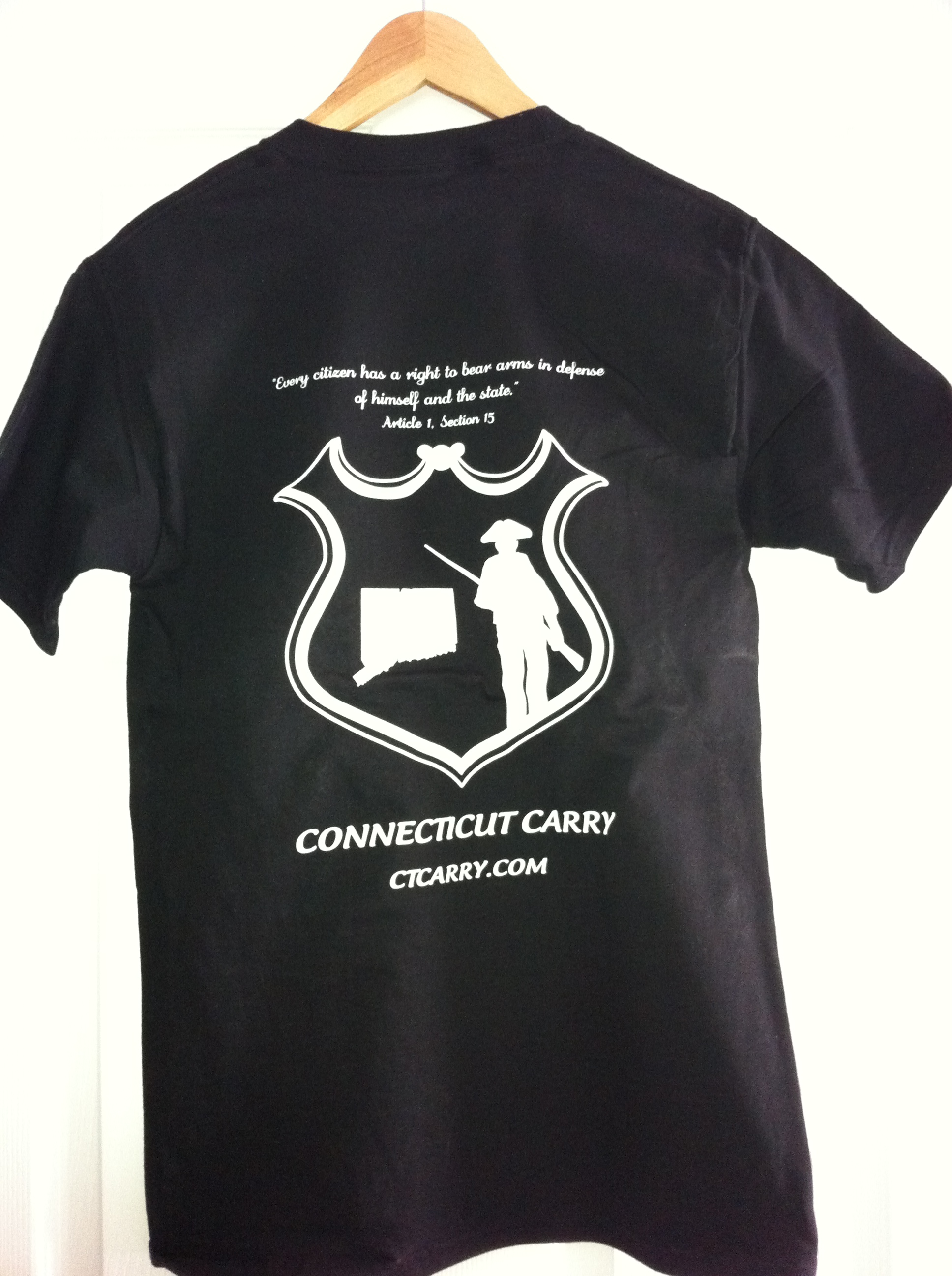 Rear of Logo T-Shirt